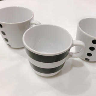 イケア(IKEA)のIKEA マグカップ 3個 セット(グラス/カップ)