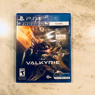 プレイステーションヴィーアール(PlayStation VR)の中古 PS4 EVE VALKYRIE PSVR (家庭用ゲームソフト)