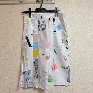 アディダス(adidas)のadidas スカート 新品タグ付き(ひざ丈スカート)