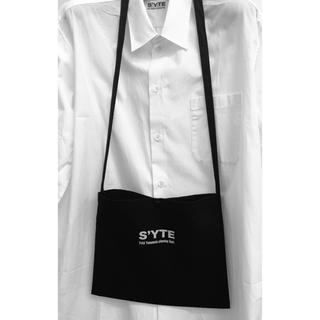 ヨウジヤマモト(Yohji Yamamoto)のS'YTE サイト サコッシュ YOHJI YAMAMOTO ヨウジヤマモト(ボディーバッグ)