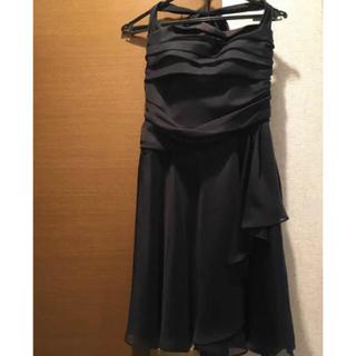 エクリュフィル(ecruefil)の黒 ドレス(ミディアムドレス)