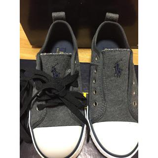 ラルフローレン(Ralph Lauren)の新品 ラルフローレン 靴 スニーカー キッズ 20 男の子 女の子(スニーカー)