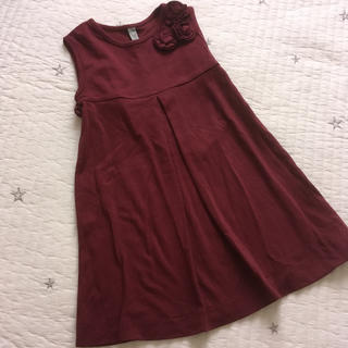 アニカ(annika)の未使用‼︎ 110 annica 韓国子供服 ワンピース フォーマル(ワンピース)