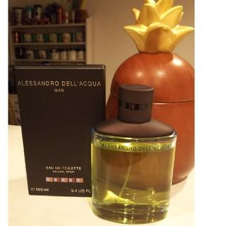 アレッサンドロデラクア(Alessandro Dell'Acqua)の廃盤♥️100ml♥️アレッサンドロデラクアマン♥️メンズ♥️香水♥️クーポン(香水(男性用))