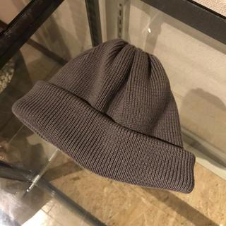 ヤエカ(YAECA)のクレプスキュール ニット帽(ニット帽/ビーニー)