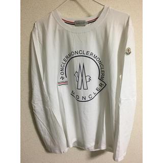 モンクレール(MONCLER)のモンクレール  白色  ロンT(Tシャツ/カットソー(七分/長袖))