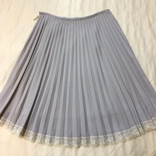 【ジャイロホワイト  】プリーツスカート