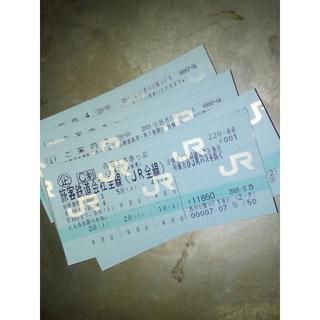青春18きっぷ5回分(未使用状態)(鉄道乗車券)