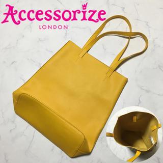Accessorize♡縦型レザートートバッグ