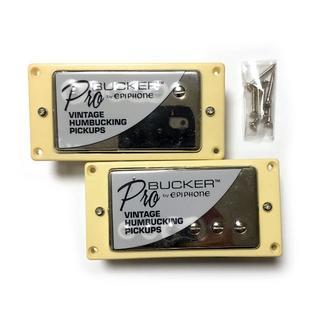 エピフォン(Epiphone)のGibsonとEpiphoneの技術の融合!ProBucker セット カバー有(エレキギター)