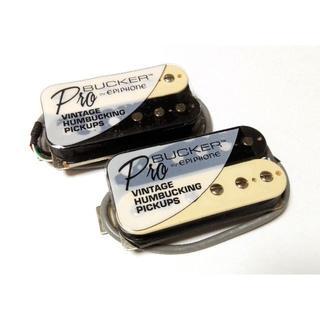 エピフォン(Epiphone)のGibsonとEpiphoneの技術の融合!ProBucker セット ゼブラ(エレキギター)