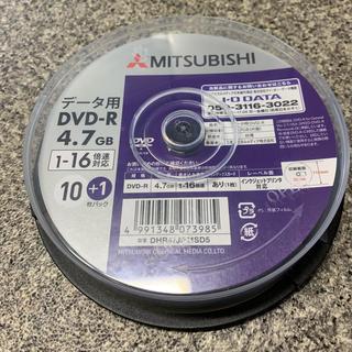 ミツビシ(三菱)の三菱 DVD-R 4.7G 11枚(その他)