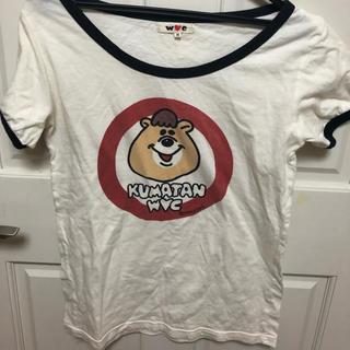 クマタン(KUMATAN)のダブルシー Tシャツ(Tシャツ(半袖/袖なし))