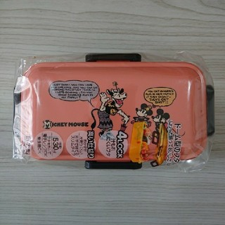 ミッキーマウス - 新品 ミッキー ふわっと弁当箱 ランチボックス 530ml