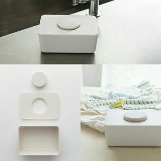 ムジルシリョウヒン(MUJI (無印良品))のサラサデザイン おしりふきケース ウエットティッシュケース(ベビーおしりふき)