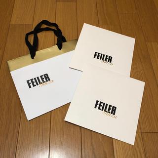 フェイラー(FEILER)のFEILER ショップ袋 ハンカチ包装(ラッピング/包装)