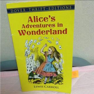 ディズニー(Disney)のAlice's adventures in wonderland 洋書(洋書)