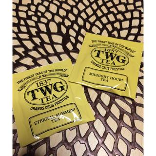 DEAN & DELUCA - TWG 紅茶2種類 お試しに コットンタイプのティーバッグ シンガポール