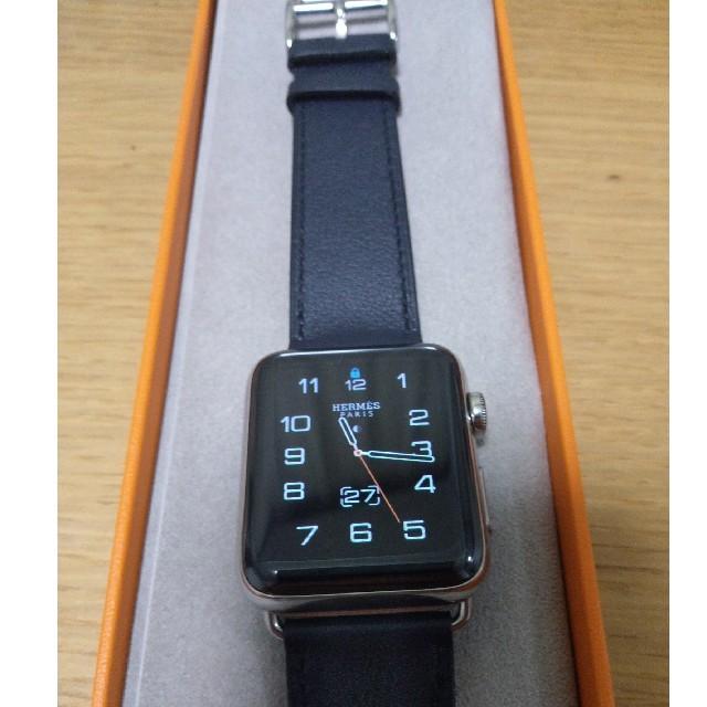 half off 0cb5e c90d7 Apple Watch エルメス 44mmケース用レザーバンド | フリマアプリ ラクマ