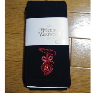 ヴィヴィアンウエストウッド(Vivienne Westwood)のVivienneWestwood St.VT オーブレギンス 10分丈 黒(レギンス/スパッツ)