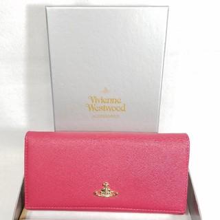 ヴィヴィアンウエストウッド(Vivienne Westwood)の在庫処分★ヴィヴィアンウエストウッド 正規品 財布 ピンク ベージュ ゴールド(財布)