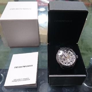 low priced a6f11 7ca37 希少!! エンポリオ・アルマーニ 機械式腕時計 AR4629