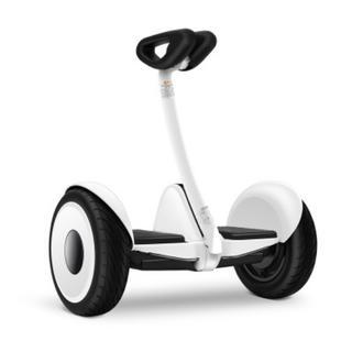 ミニセグウェイ セグウェイ 遠隔操作 ラジコン ホワイト バランススクーター (三輪車/乗り物)