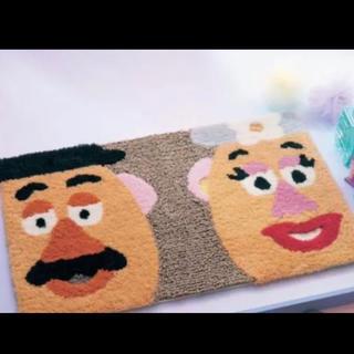 ディズニー(Disney)のミスターポテドヘッド ミセスポテドヘッド玄関マット トイストーリー ベルメゾン(玄関マット)