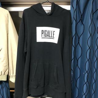 ピガール(PIGALLE)の最終値下げ 三代目着用 ピガール パーカー(パーカー)