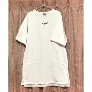 エックスガール(X-girl)のX-GIRL ロゴ ロングTシャツ エックスガール(Tシャツ(半袖/袖なし))