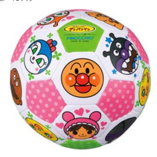 アンパンマン(アンパンマン)の【値下げしました‼︎】アンパンマン サッカーボール(ボール)