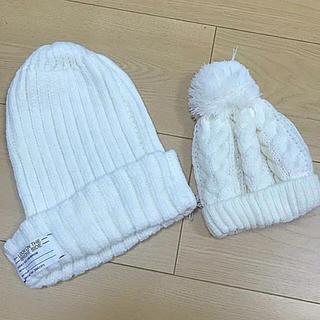 ジーユー(GU)のニット帽 親子(帽子)