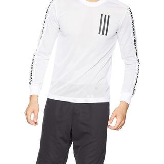 アディダス(adidas)のアディダス] トレーニングウェア ストライプスロングスリープTシャツ 3L(Tシャツ(長袖/七分))