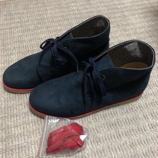 ジーユー(GU)のGU メンズ スエード カジュアル シューズ 26cm【新品】(ブーツ)