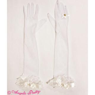 アンジェリックプリティー(Angelic Pretty)の新品♡送料無料♡定価5292円♡アンジェリックプリティー♡プリンセスチュール手袋(手袋)