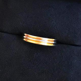 カルティエ(Cartier)のカルティエ トリニティ スリーカラー 3連 リング 51 K18 アクセサリー(リング(指輪))