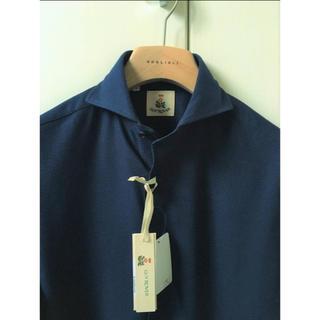 ギローバー(GUY ROVER)の新品 春夏 ギローバー S GUY ROVER ギ・ローバー シャツ 半袖 紺(シャツ)