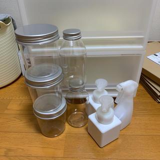 MUJI (無印良品) - 無印良品 入浴ジャー 容器 スプレー セット