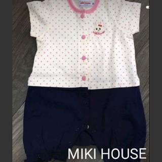 1b57d7fac6201 ミキハウス(mikihouse)の MIKI HOUSE ロンパース 70サイズ(カバーオール)