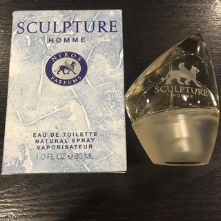 ニコス(NIKOS)のスカルプチャー オム オードトワレ 30ml(香水(男性用))