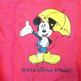 ディズニー(Disney)の【Disney】ミッキーレインポンチョ♪大人用L(ポンチョ)