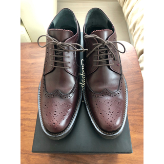 ガラアーベント(GalaabenD)の新品同様 GalaabenD ウィングチップ 革靴(ドレス/ビジネス)