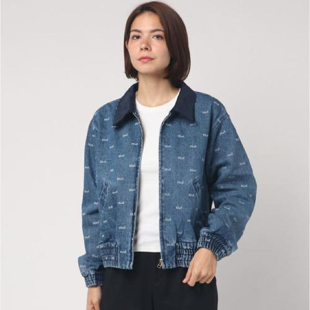 HUF(ハフ)のHUF デニムジャケット レディースのジャケット/アウター(Gジャン/デニムジャケット)の商品写真