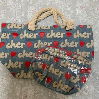 シェル(Cher)の  [新品•未使用] Cher トートバッグとポーチセット(トートバッグ)