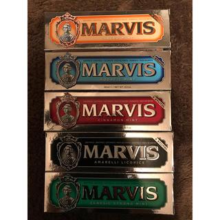マービス(MARVIS)のMARVIS(マービス)の歯磨き粉 85ml 5色5本セット(歯磨き粉)