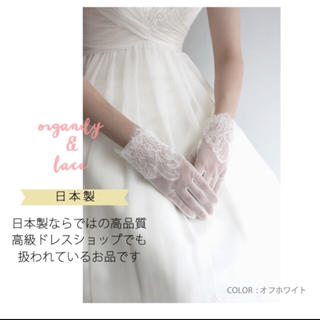 ヴェラウォン(Vera Wang)のショードグローブ ウェディング(手袋)