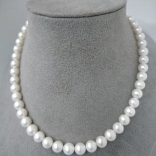 ◆湖水真珠★本物淡水パール★ネックレス◆(ネックレス)
