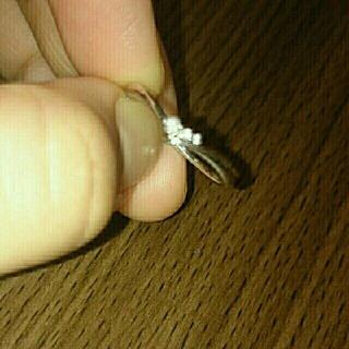 ヨンドシー(4℃)の4℃ホワイトゴールドリング13号(リング(指輪))
