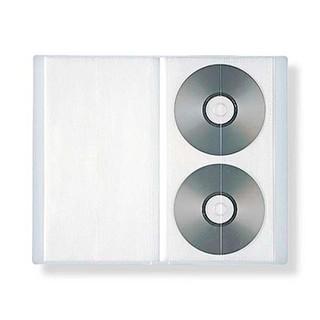ムジルシリョウヒン(MUJI (無印良品))の無印良品 CD・DVDホルダー(CD/DVD収納)