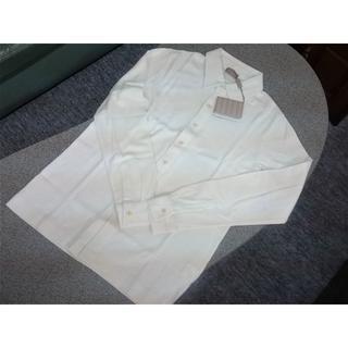 クルチアーニ(Cruciani)の新品 クルチアーニ コットン・カシミア 長袖シャツ 50(L相当)(シャツ)